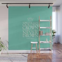 My Golden Crown Wall Mural