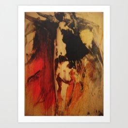 vulcano Art Print