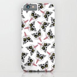 Kiss Cat Head iPhone Case
