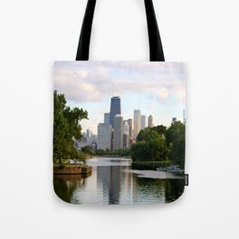 Chicago by River Tote Bag
