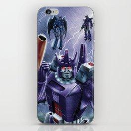 Do my bidding, or taste my wrath! iPhone Skin