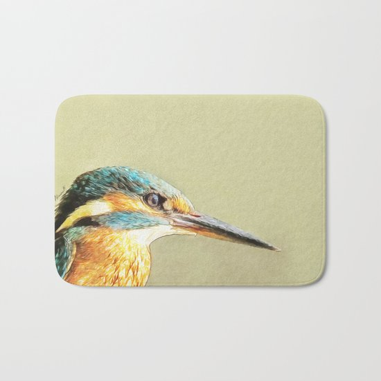 KINGFISHER - Stop And Stare Bath Mat