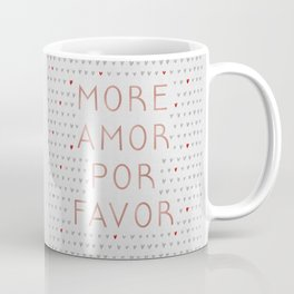 More Amor Rose Gold Coffee Mug