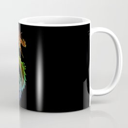 Traditional Chinese dragon in rainbow colors Coffee Mug