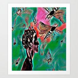Bee Deelightful Art Print