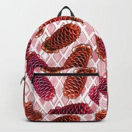 Australian Native Flowers - Beehive Ginger Backpack
