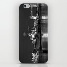 HMS Belfast in Black and White iPhone Skin