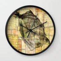 lotus Wall Clocks featuring Lotus by Aloke Design