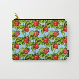 Strawberry Healthy Fruit Pattern Gift Carry-All Pouch