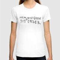 joy division T-shirts featuring New Division + Joy Order by StellaDays
