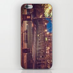 Night Time in the Park  iPhone & iPod Skin