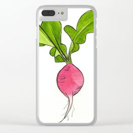 Radish Clear iPhone Case