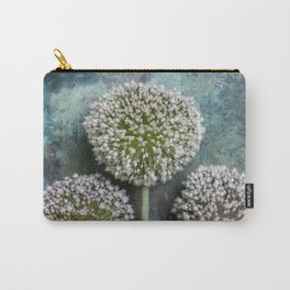 Three Allium Flowers Carry-All Pouch