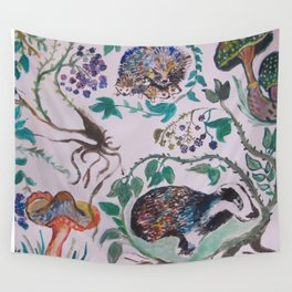 Forest Scene Wall Tapestry