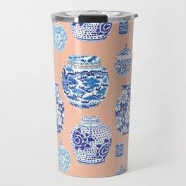 Chinoiserie Ginger Jar Collection No. 1 Travel Mug