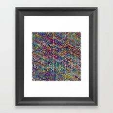Cuben Network 1 Framed Art Print