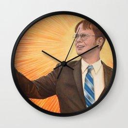 Dwight Schrut The Messiah Wall Clock
