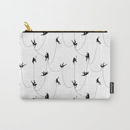 Invasion of the rock climbers Carry-All Pouch