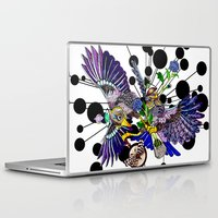 chemistry Laptop & iPad Skins featuring Chemistry by Nestingzone