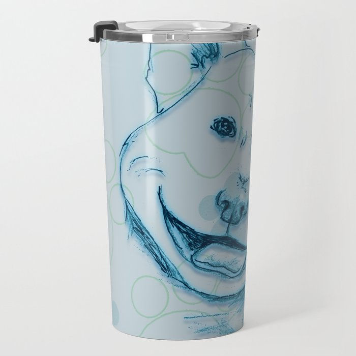 Happy PitBull Travel Mug