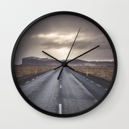Route 1 - Landscape and Nature Photography Wall Clock