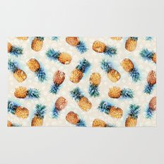 Pineapples + Crystals  Rug