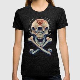 Biohazard triple eye skull T-shirt