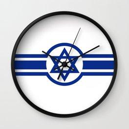 Eastern Israeli Belt Flag for the area of East of Israel Wall Clock