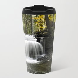 Waterfalls Landscape Travel Mug