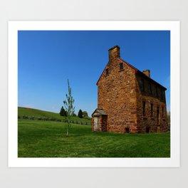 Stonehouse Manassas Battlefield Art Print