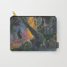 Upa Upa (The Fire Dance) by Paul Gauguin Carry-All Pouch