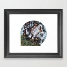 Ride Away Framed Art Print