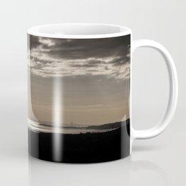 The Severn Bridges at Sunset Coffee Mug