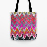 chevron Tote Bags featuring Chevron * by Mr and Mrs Quirynen