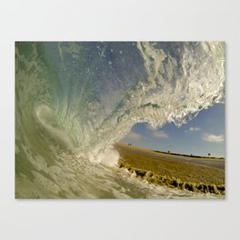 Shorebreak Barrel  6/13/14 Canvas Print