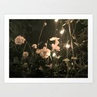 Fairies and Flowers Art Print
