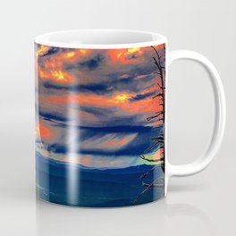 Psychedelic Sunset Coffee Mug