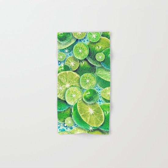 Lime Time Hand & Bath Towel
