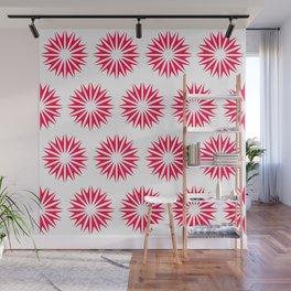 Poppy Modern Sunbursts Wall Mural