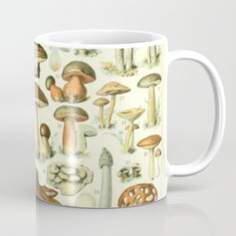 Wild Mushroom Chart Coffee Mug
