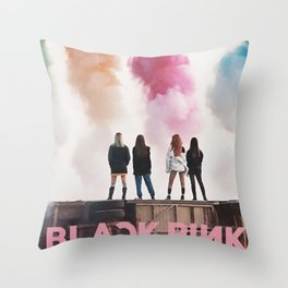 blackpink Throw Pillow