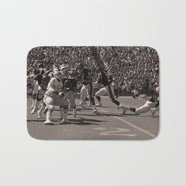 Roland Harper : Bears vs. Lions : Soldier Field : 1974 Bath Mat
