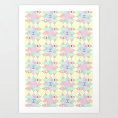 Di∆mondP∆stel Art Print