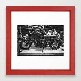 Bike Shed Framed Art Print