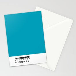 PANTOMIME - Dry Sapphire Stationery Cards