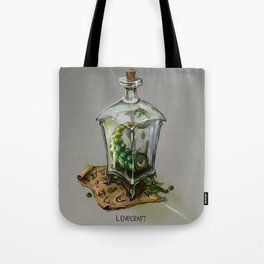 Lovecraft - Grandfathers of horror Tote Bag