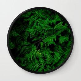 Green Nature Wall Clock