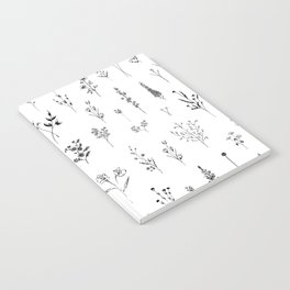 Wildflowers Notebook