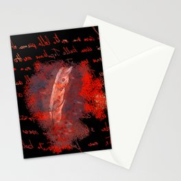 abstract feather # Stationery Cards