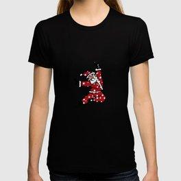 Dancing Santa - 8 T-shirt
